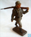 Toy soldier - Lineol - German Infantryman