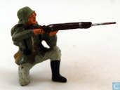 German infantryman kneeling