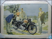 Ariel square four motorcycle W.Krogman