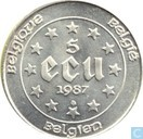 Belgi 5 ECU 1987