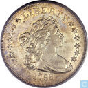"Kostbaarste item - Verenigde Staten dollar 1798 ""13 stars on obverse, small eagle reverse"""