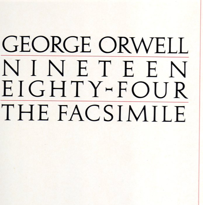 nineteen eighty four george orwell Nineteen eighty-four is george orwell s terrifying vision of a totalitarian future in which everything and everyone is slave to a tyrannical regime.