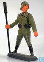 Artilleryman with pushtoy