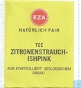 Tea bags and Tea labels - EZA - Tee Zitronenstrauch-Ishpink