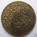 "Tunisia 1 franc 1941 ""Chambers of Commerce"""