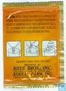 Tea bags and Tea labels - Assi Brand - Instant Ginger tea (Honeyed)