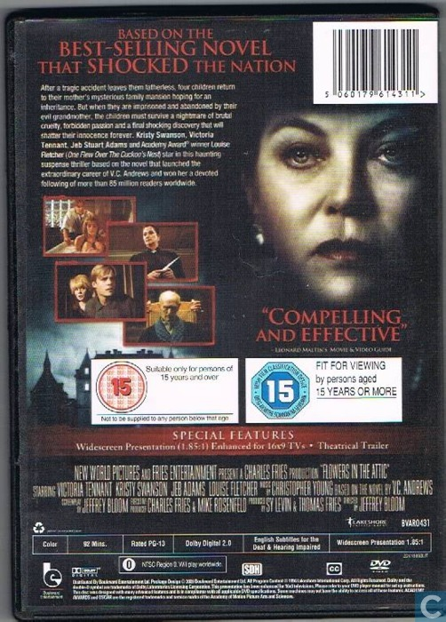 Flowers In The Attic Dvd Catawiki