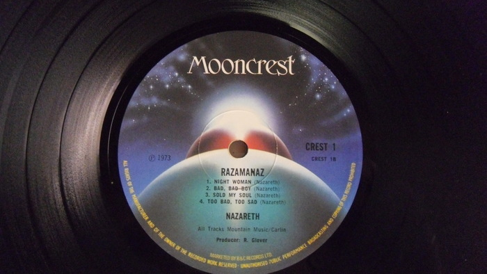 Nazareth Razamanaz Lp Original Uk Press Catawiki