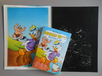 Disney Studio's - Originele inkleuring Donald Duck pocket 26 - (1995)