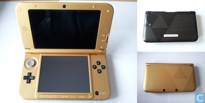nintendo 3ds xl zelda limited edition 1 consoles. Black Bedroom Furniture Sets. Home Design Ideas
