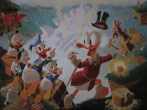 Carl Barks - Litho 'Return to plain awful' + certificaat van echtheid - (1989)