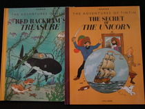 Kuifje - The secret of The Unicorn + Red Rackham's treasure - 2x Grootformaat hc - 1e druk heruitgave - (2012)