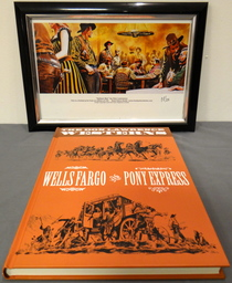 The Don Lawrence Westerns - Wells Fargo and Pony Express - hc - 1e druk heruitgave - (2010)
