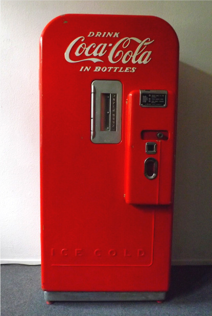 nuka cola vending machine 3d printed painted fallout