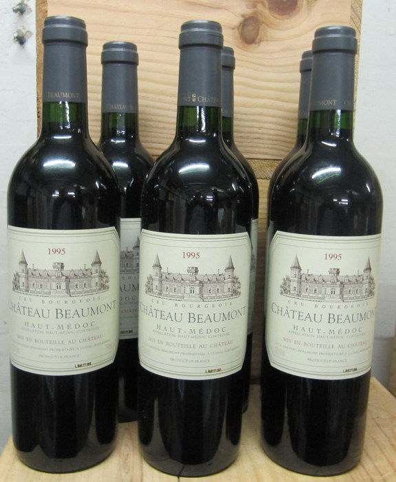 1995 chateau beaumont haut medoc cru bourgeois 6 flessen for Chateau beaumont