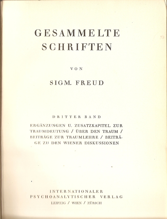 """sigmund freud collected writings 1924 One should not fail to mention the fact that freud made an appropriation of the clinical material collected by bleuler and jung in order to corroborate the freud s (1924a) """"neurosis, and psychosis,"""" in the standard edition of the complete psychological works of sigmund freud trans j strachey ed."""