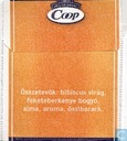 Tea bags and Tea labels - Coop - Trópusigyümölcs
