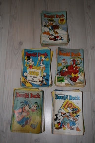 Donald Duck weekblad jaargangen 1976, 1977, 1978, 1979, 1980 - 247x Losse nummers