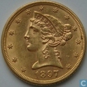 Most valuable item - United States 5 dollar 1897