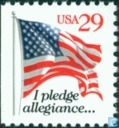 Postage Stamps - United States of America [USA] - Flag