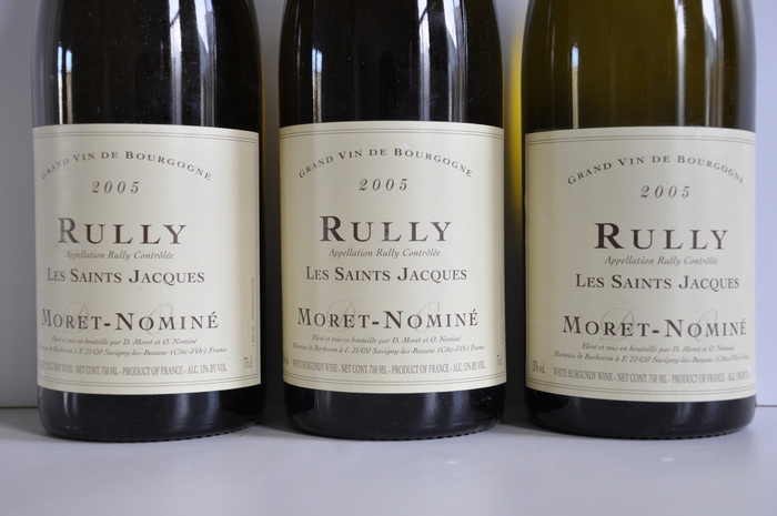 Rully les saint jacques 2005 negotiant moret nomine - Passion cuisine rully ...