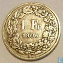 Switzerland 1 Franc 1906