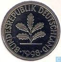 Germany 10 pfennig 1998 (D)