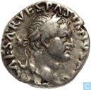 Vespasian 69-79, AR Denarius Rome 70	