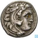 Kingdom Of Macedonia. Alexander the great 336-323, AR Drachma Kolophon c. 310-01