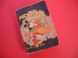 Mickey Mouse 731 - Mickey Mouse,  The Mail Pilot - sc - 1e druk - (1933)
