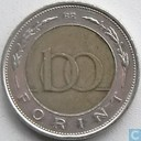 Coins - Hungary - Hungary 100 forint 1997