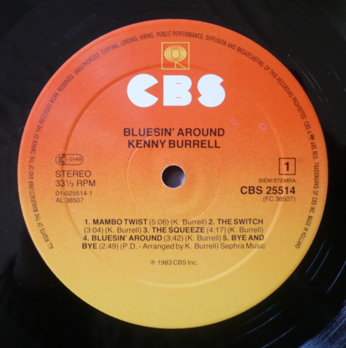 Kenny Burrell - Bluesin' Around