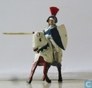 Sir Percival mounted