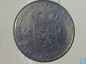 Nederland 2 1/2 gulden 1942