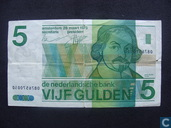 Nederland 5 gulden 1973 misdruk
