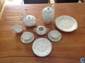Ceramics - US-Zone Germany - Eschenbach porcelain items Germany