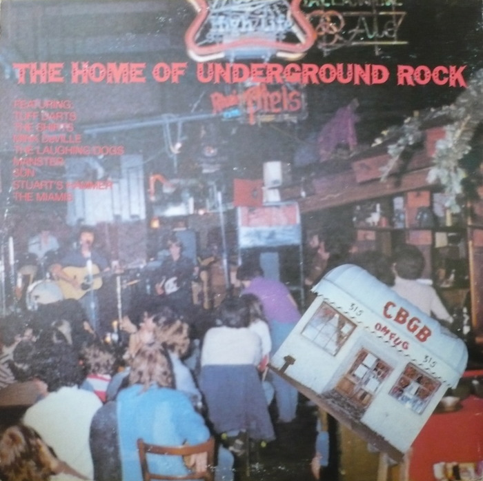 Various - Live At CBGB's - The Home Of Underground Rock