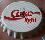 Coca Cola light klok