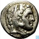 Kingdom Macedonia-AR Drachma Alexander the great 336-323