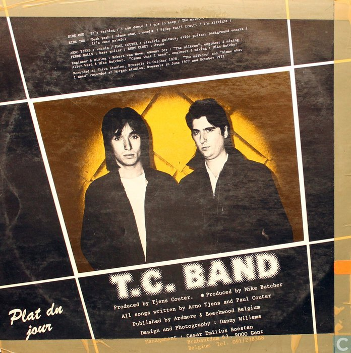 Tjens Couter* Tjens Couter & T.C. Band - Gimme What I Need