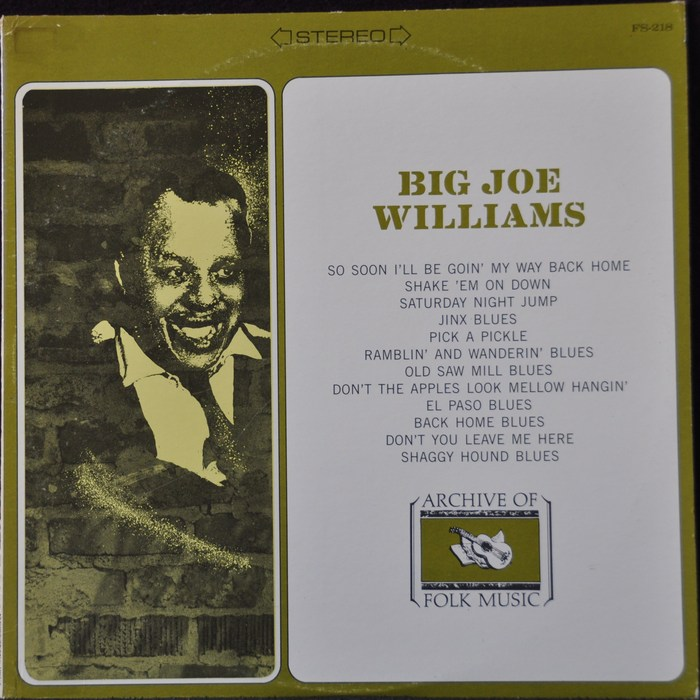 Big Joe Williams Classic Delta Blues