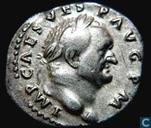 Roman Empire-AR Denarius Vespasian 
