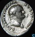 Roman Empire-AR Denarius Vespasian 69-79 a.d. 
