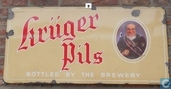  emaille reclamebord kruger pils