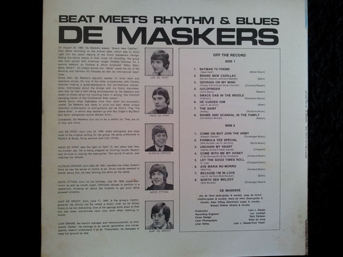 De Maskers Beat Meets Rhythm Blues