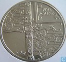 "Coins - Alderney - Alderney 5 pounds 2002 (PROOF) ""Queen Elizabeth II - 50 Years of Reigh"""