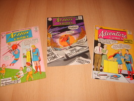 Action Comics 299 + 368 + Adventure Comics 278 - 3x comics - 1e druk - (1960 / 1968)