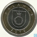 "Coins - Lithuania - Lithuania 2 litai 2012 ""Palanga - Resorts"""