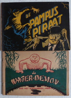 Rikki Visser - De Pampus piraat + De Water-Demon - sc - (1948)