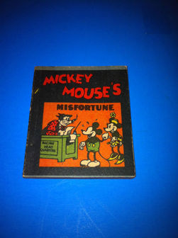 Mickey Mouse - Misfortune - sc - (1934)